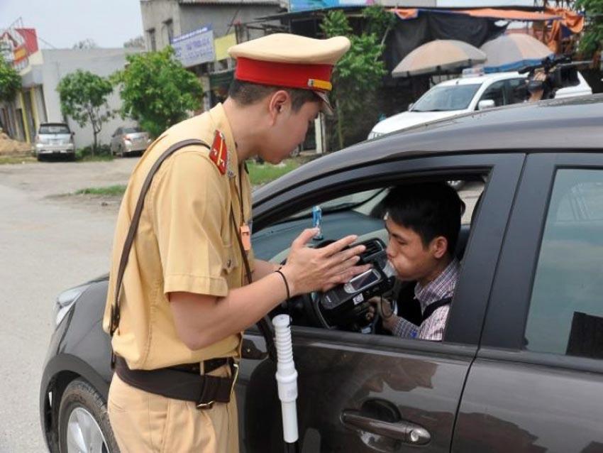 mức phạt nồng độ cồn xe oto