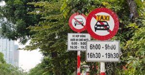 Hà Nội cấm xe taxi vào giờ cao điểm