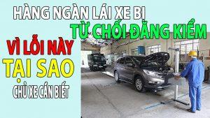 lý do từ chối đăng kiểm ô tô