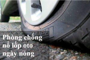 phòng chống nổ lốp ô tô