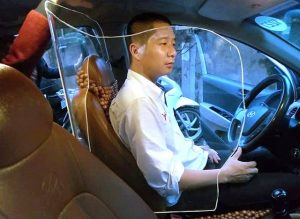 khung chắn bảo vệ ghế lái